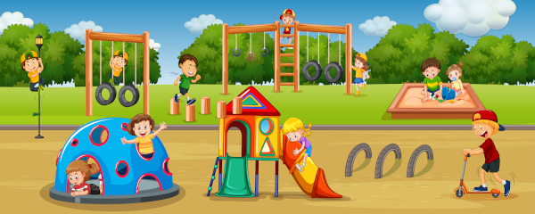 Reasons for playgrounds