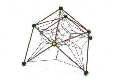 Cosmic Crest Playground Net Climber