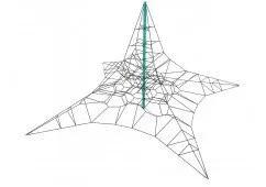 Interstellar Incline Rope Climber