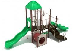Bar Harbor backyard playset for toddlers