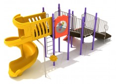 Columbia backyard playset for toddlers