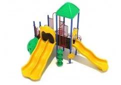 Renton Double Slide Backyard Playset