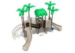 Rockville Slide and Climbers Play Set