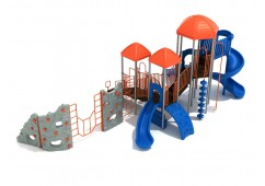 Slidell playset for toddlers
