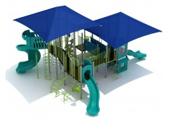 Uptown District playset for 3 year olds
