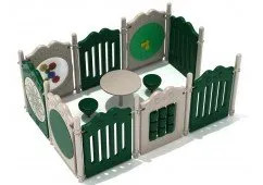 Hartselle outdoor playground equipment for outdoors