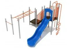 Forest Grove Playset With Monkey Bars