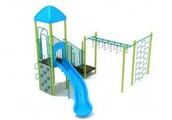Homestead Slide With Monkey Bars