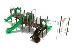 Santa Monica Playground Slides